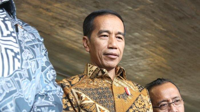 Presiden Jokowi saat ditemui Grid.ID di Pura Mangkunegaran Solo, Jawa Tengah, pada Rabu (2/10/2019).