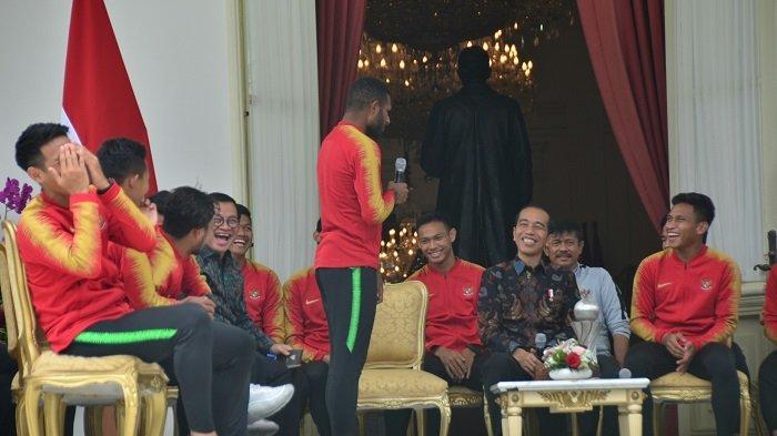Marinus Wanewar Minta Satu Hal Khusus kepada Presiden Jokowi Usai Juara Piala AFF U-22