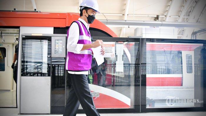 Jokowi Tekankan Pentingnya Vaksinasi Covid Bagi Pelaku Transportasi