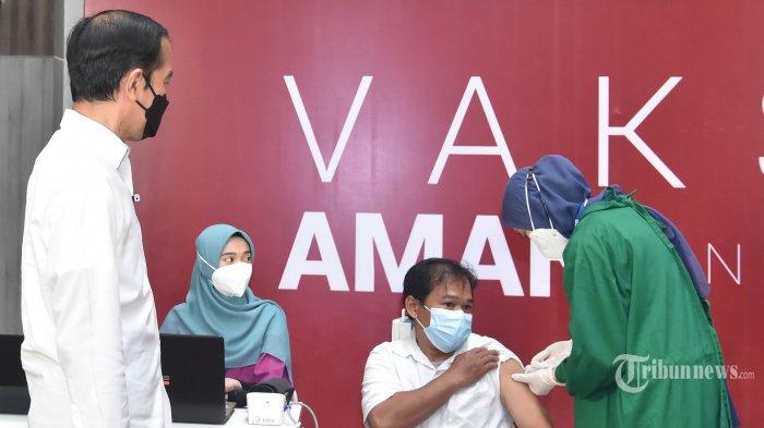 Jokowi Belum Disuntik Vaksin Dosis Ketiga, Wali Kota 'Salip' Presiden Jokowi