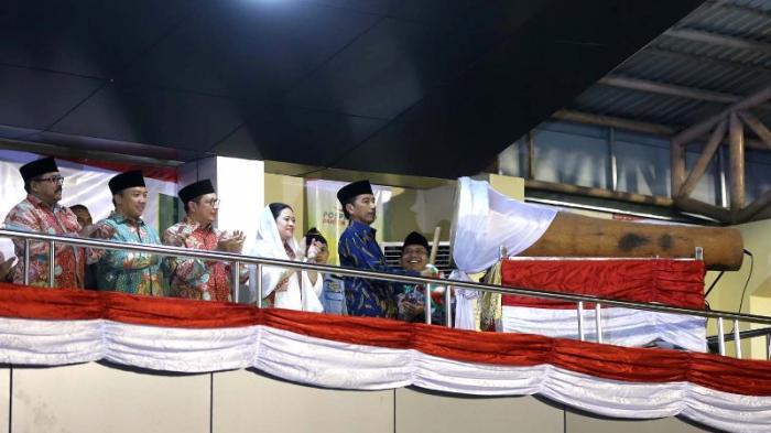 Buka Pospenas, Jokowi Ceritakan Perjuangan KH Hasyim Asy'ari