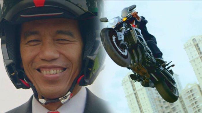 Jokowi Ceritakan Proses di Balik Pembuatan Video Pembukaan Asian Games 2018,