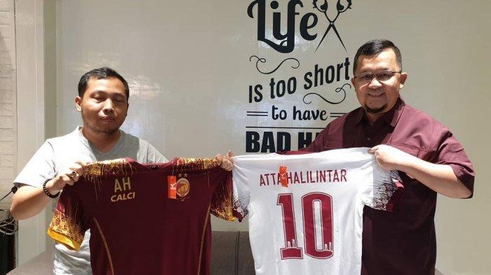Kabar Liga 2 - Akan Buka Bersama dengan Atta Halilintar, Sriwijaya FC Siapkan Hadiah Spesial