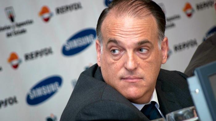 Presiden Liga Spanyol Javier Tebas.