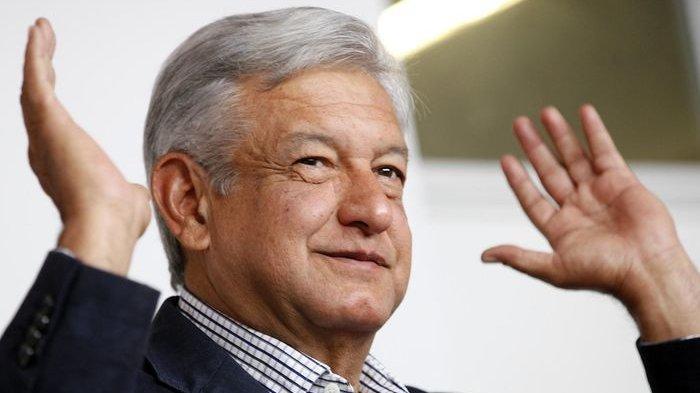 Presiden Meksiko Lopez Obrador Positif Covid-19