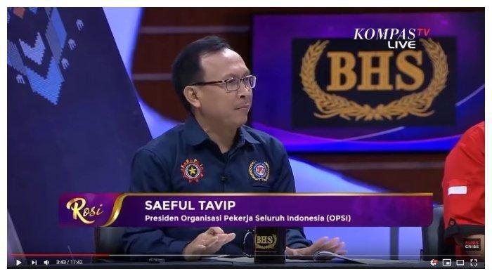 Kritik Sistem Upah hingga PHK Kaum Buruh dalam Omnibus Law, Presiden OPSI: Bagaimana Tidak Pesimis?