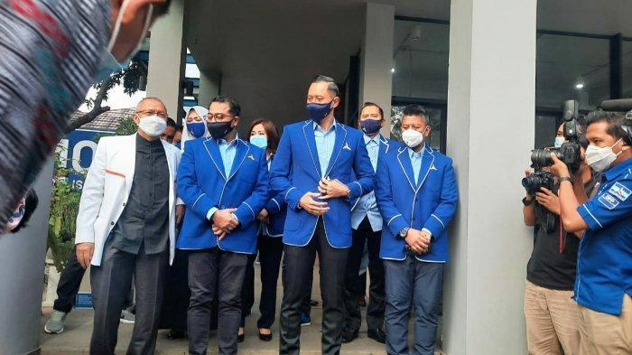 Sambangi Kantor DPP Demokrat, Presiden PKS dan Rombongan Disambut AHY