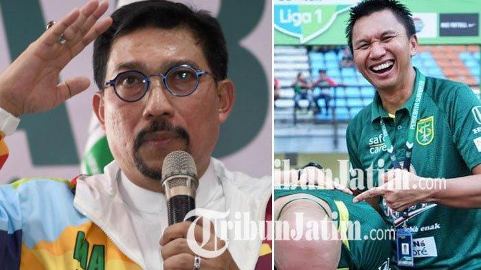 Presiden Persebaya Azrul Ananda Datangi Acara Bacawali Surabaya Eks Timses Jokowi, Maju Pilwali?