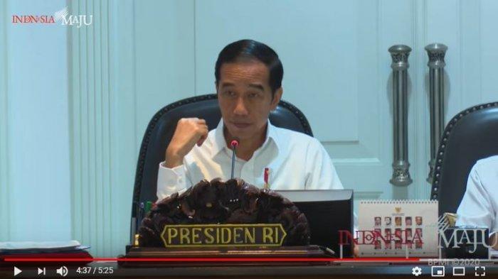 Pimpin Ratas, Jokowi Bahas Ketersedian Gas untuk Industri, Sebut Ada 3 Hal Ini yang Dapat Dilakukan