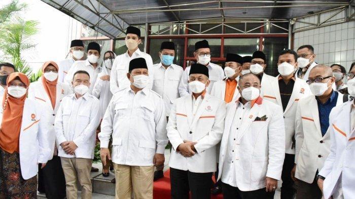 Prabowo Subianto Merasa Nostalgia Saat Bertemu Jajaran DPP PKS