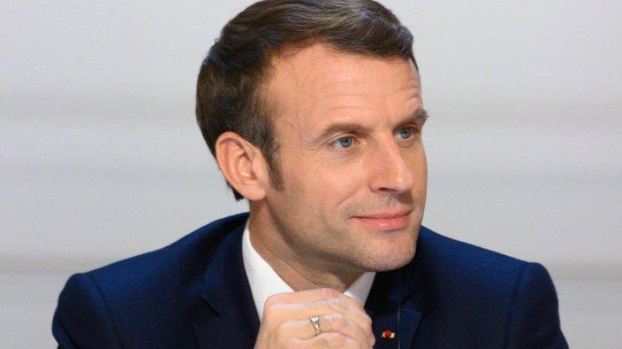 Presiden Prancis, Emmanuel Macron.