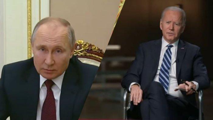 Presiden Rusia Vladimir Putin merespon pernyataan Presiden AS Joe Biden yang menyebutnya