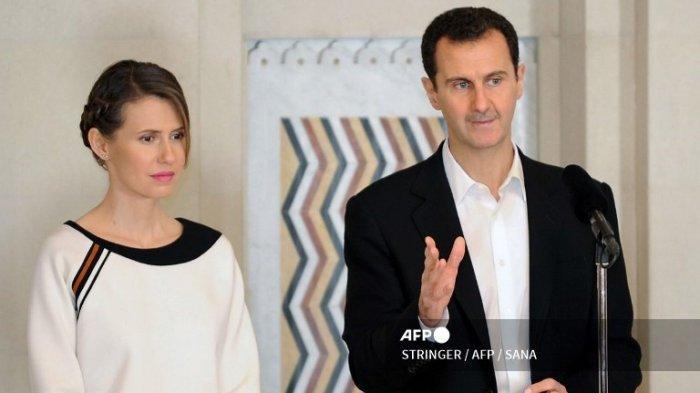 Presiden Suriah Bashar al Assad dan Istrinya Positif Covid-19