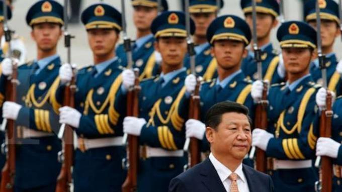ILUSTRASI. Presiden Xi Jinping dan Tentara Pembebasan Rakyat China (PLA)