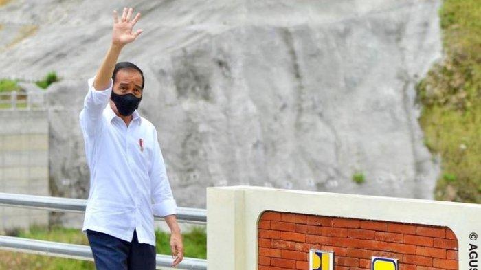Habiskan Dana Rp 916 Miliar, Ini Harapan Jokowi Terhadap Bendungan Tukul di Pacitan