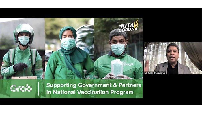 Grab Siap Dukung Pemerintah Dalam Upaya Vaksinasi Covid-19