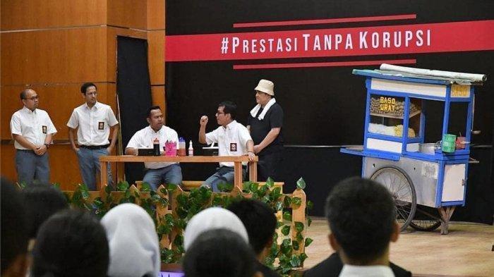 Balik Layar Pentas Drama: Nadiem Makarim, Erick Thohir, dan Wishnutama Ingin Anak Muda Cegah Korupsi