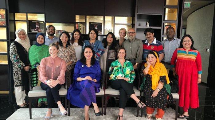 Laporan Perjalanan PPI pada Workshop 'GS White Ribbon Alliance' di Dubai