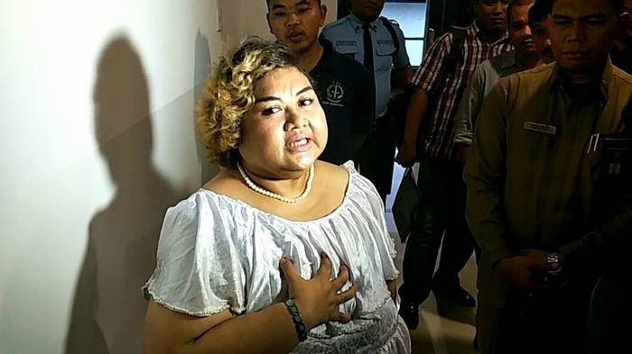 Pretty Asmara Merasa Berat Divonis 6 Tahun Penjara
