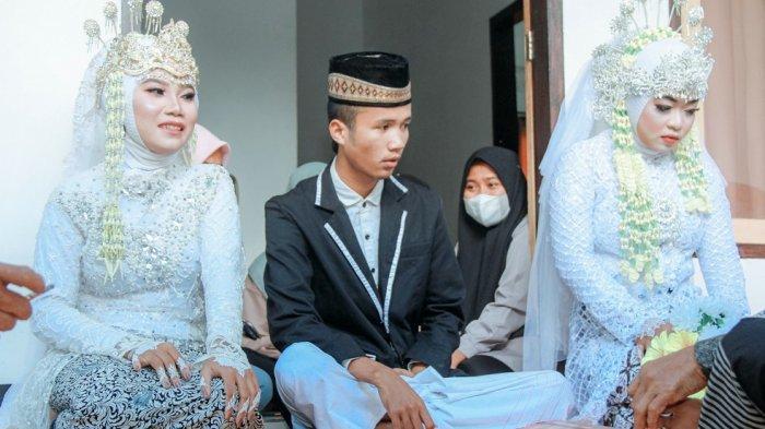 Kisah Pria 20 Tahun di Lombok Nikahi 2 Wanita Sekaligus, Tiba-tiba Didatangi Mantan Jelang Akad