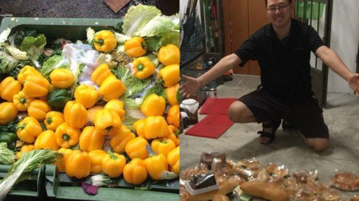 Antara Kikir atau Hemat, Pria Ini Lebih Suka Mengais Sampah untuk Makan Padahal Punya Uang