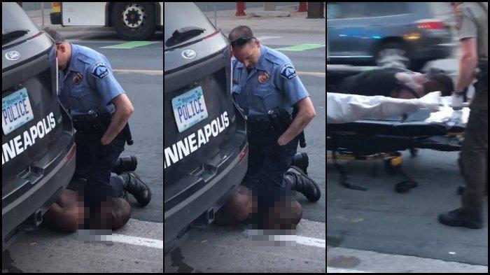 Pria Kulit Hitam Tewas Tercekik setelah Lehernya Ditekan Polisi, Sudah Memohon Ampun tapi Diabaikan