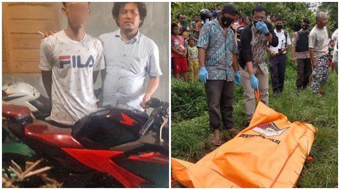 Pria Tega Bunuh Sahabatnya Secara Sadis, Sempat Pesta Sabu Berdua, Korban Membusuk di Ladang Jagung