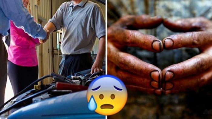 Bantu Perbaiki Mobil, Pria Ini Terlambat Wawancara, saat Tiba di Lokasi yang Terjadi Tak Terduga