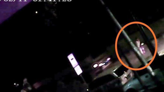 Detik-detik Sopir Truk Tewas di Parkiran Terekam CCTV, Sempat Seberangi Jalan saat Terluka Parah