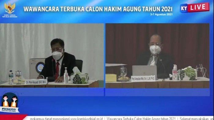 Calon Hakim Agung Prim Haryadi Sebut Pidana Mati untuk Kasus Narkotika dan Korupsi Masih Dibutuhkan