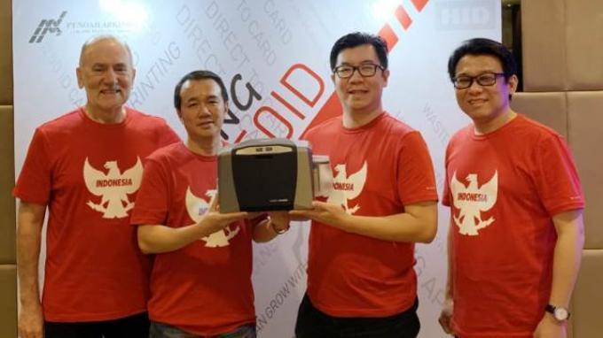 Printer Kartu Tipe Khusus untuk Pasar Indonesia Diluncurkan