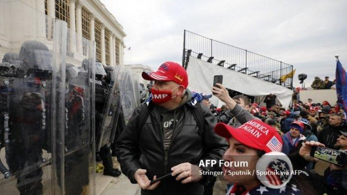 Capitol Hill Dibobol Massa Trump, Info Bahaya Ternyata Sudah Dimiliki Keamanan DPR