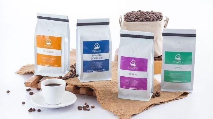 Produk kopi dari Mozass Healthy Laboratory.