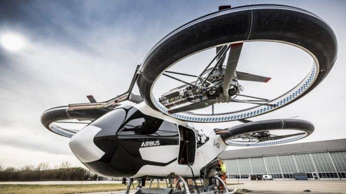 Airbus Pamer Inovasi Taksi Terbang untuk Perkotaan
