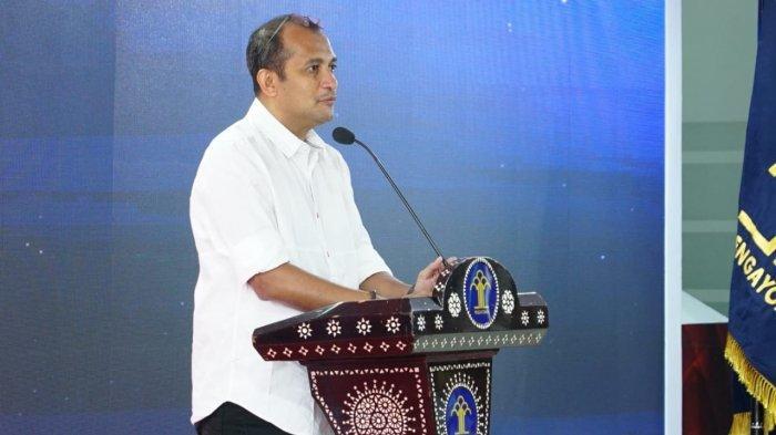 Prof. Dr. Edward Omar Sharif Hiariej, S.H., M.Hum Wakil Menteri Hukum dan HAM.