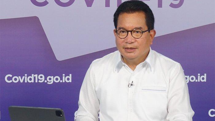 Juru Bicara Satgas Penanganan Covid-19 Prof Wiku Adisasmito.