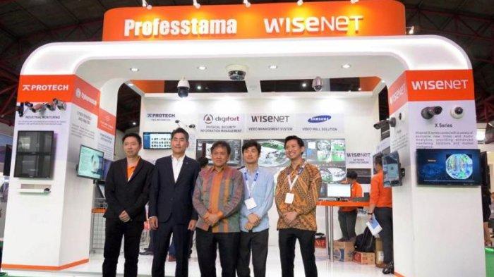 Professtama Kenalkan Solusi Teknologi Keamanan Mutakhir di Indonesia Infrastructure Week 2018