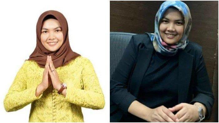 Foto Atika Azmi Utammi Nasution yang menjadi wakil bupati termuda di Indonesia.