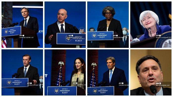 Profil Para Anggota Kabinet Joe Biden, Dipenuhi Nama-nama dari Pemerintahan Obama