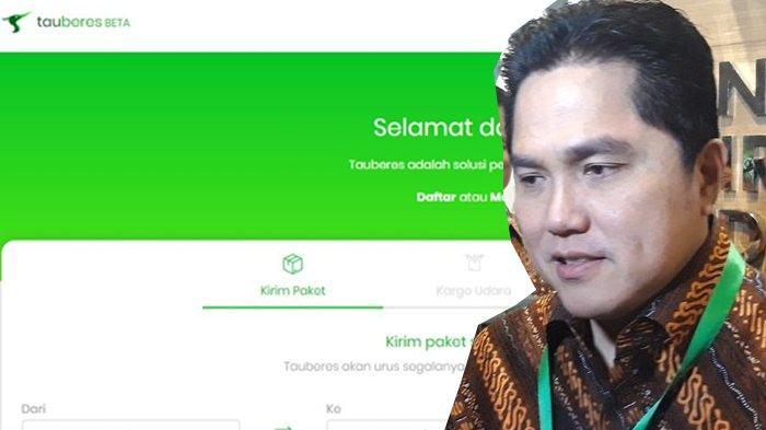 Erick Thohir Dibuat Ngakak saat Dengar Nama Cucu Perusahaan PT Garuda Tauberes Indonesia: Baru Tahu