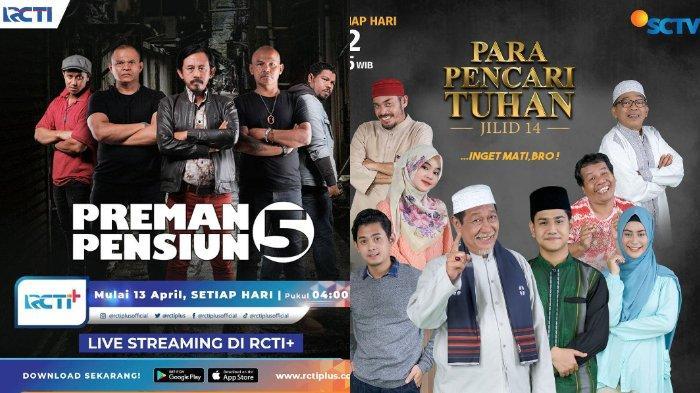 Acara Tv Ramadhan 2021 Untuk Temani Waktu Sahur Preman Pensiun 5 Hingga Para Pencari Tuhan Jilid 14 Tribunnews Com Mobile