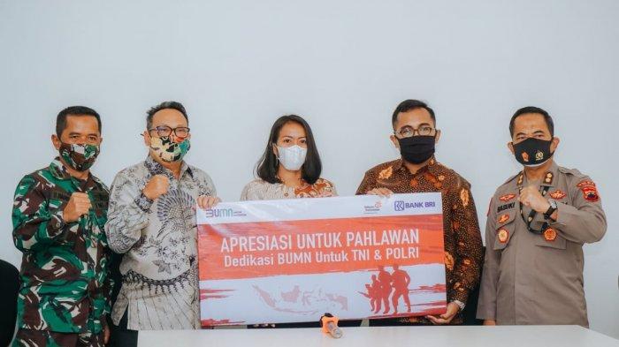 Peringati Hari Pahlawan, BRI Beri Bantuan Beasiswa Bagi Putra/Putri TNI dan POLRI