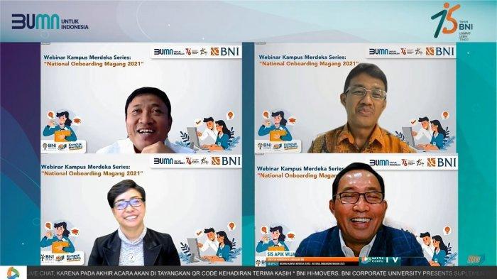 """Dukung Kemendikbud Ristek, BNI Techship Berikan Fleksibilitas Magang Merdeka """"Work From Anywhere"""""""