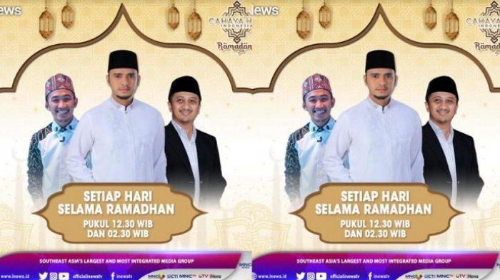 Ustaz Yusuf Mansur dan Ustaz Syam Sampaikan Tausiah di Program Cahaya Hati Indonesia Ramadan