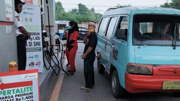 Dukung PLB di Kota Bandar Lampung, Pengemudi Angkot Antusias Gunakan BBM Ramah Lingkungan
