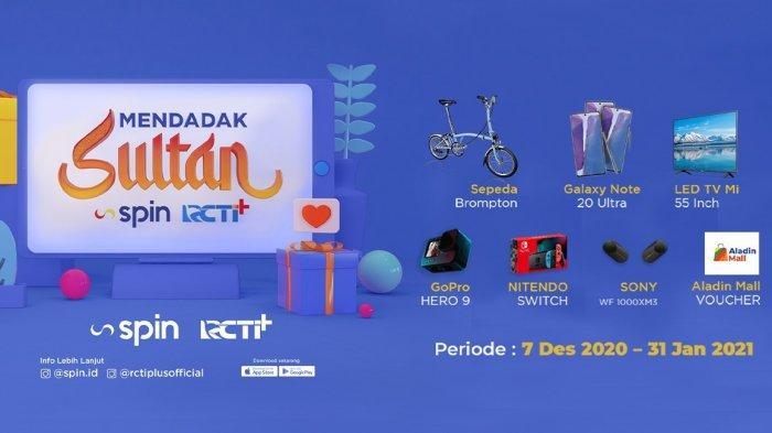 Terbaru, Tingkatkan Tren Transaksi Digital, SPIN Buat Program Mendadak Sultan Berhadiah Sepeda Brompton