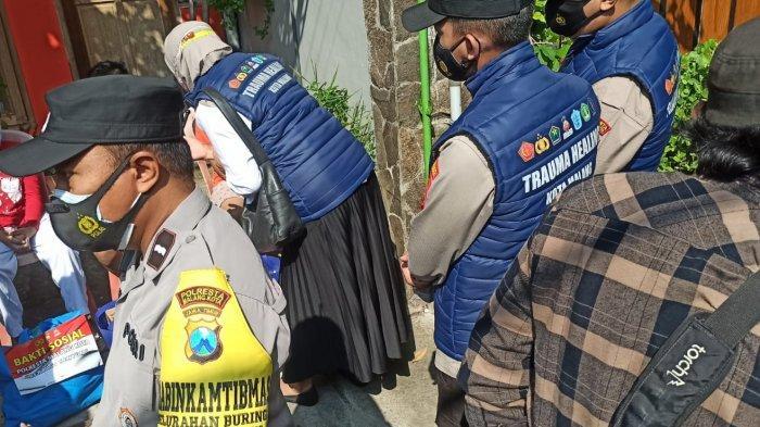 Program Sama Ramah, Satgas Malang Raya Berikan Trauma Healing bagi Korban Covid-19