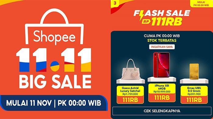 Promo 11.11 Shopee 11 November 2020