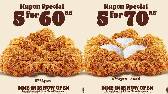 Promo Burger King September 2021