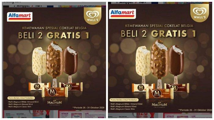 Ice Cream Wall S 3in1 Neopolitana Dan Avocado Mocha Kemasan 350 Ml Di Alfamart Diskon 25 Halaman 2 Tribunnews Com Mobile